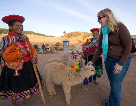Photo: Lauren Weinhold in Peru