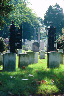 Photo: Cemetery in Old Town Alexandria
