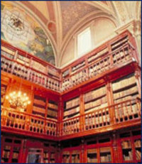 Photo: Morelia Public Library, Michoacán, Mexico