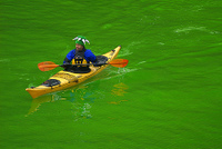 Photo: Chicago River kayak by Kenneth Ilio