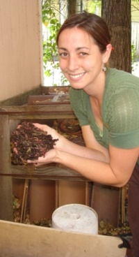Photo: Worm composting