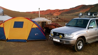 Photo: Camping with nomads