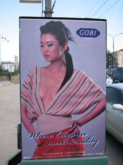 Photo: Mongolian Clothing Ad
