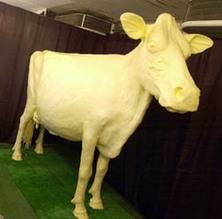Photo: Butter cow