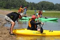 Photo: Kayakers