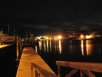 Photo: Dock by Mystic River