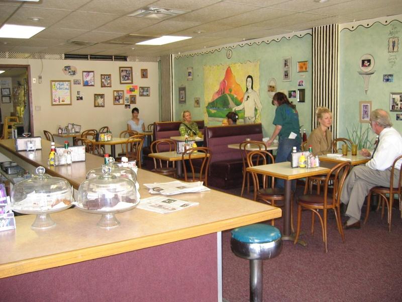 Photo: Inside the Waveland Café