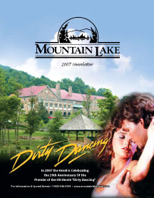 Mountain Lake Hotel newsletter