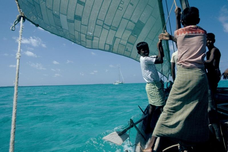Photo: Maldives dhoni