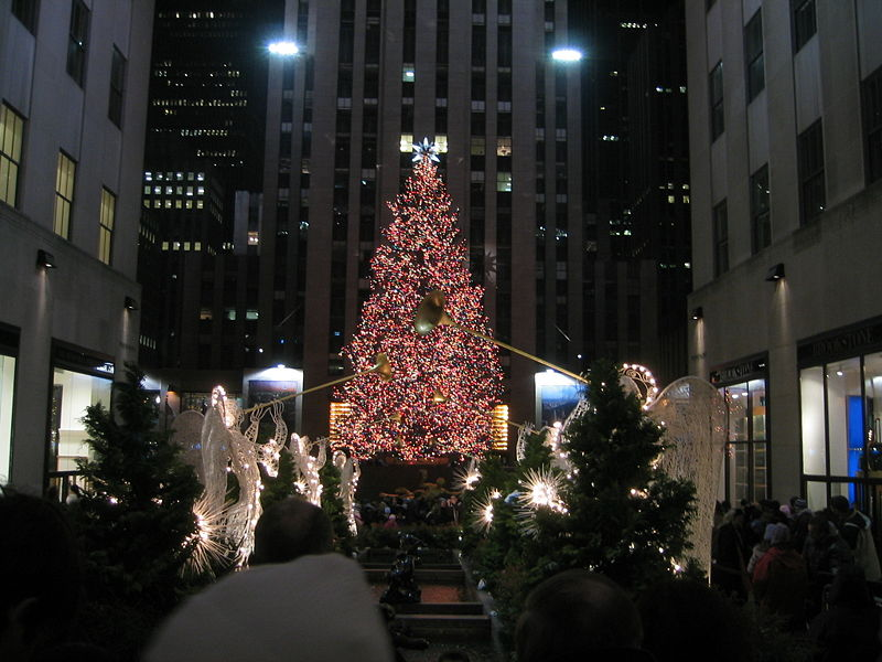 Photo: Rockefeller tree