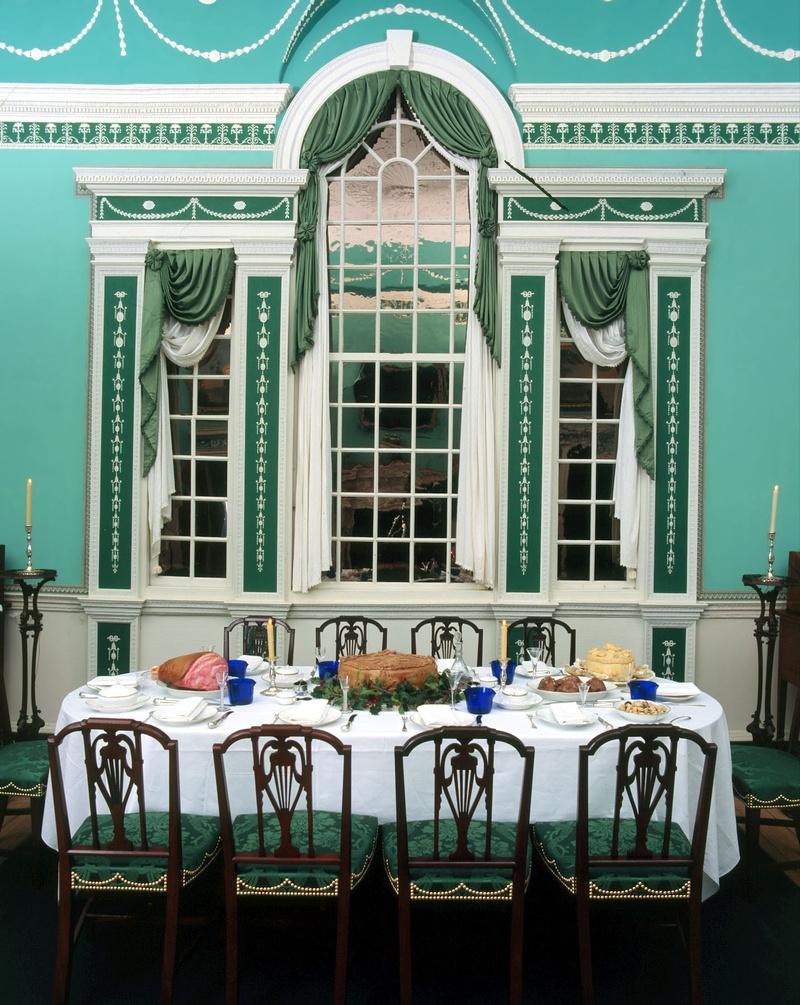 ELOISE MOOREHEAD Dining room at Mount Vernon via  : diningatmountvernon from eloisemoorehead.com size 800 x 1005 jpeg 300kB