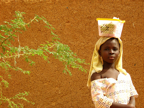 Photo: Bandiagara girl