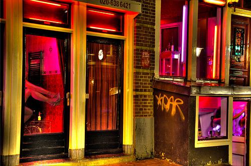 Photo: Amsterdam Red Light District
