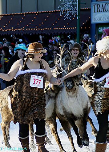 Photo: Anchorage Reindeer Run