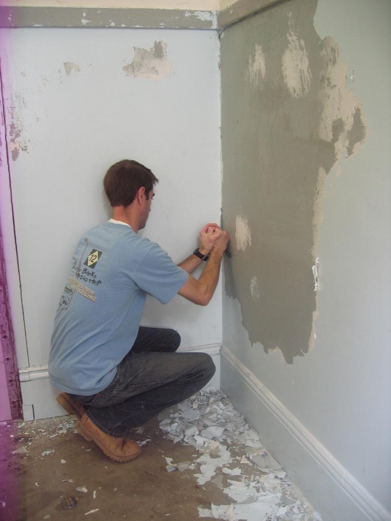 Photo: Scraping Paint