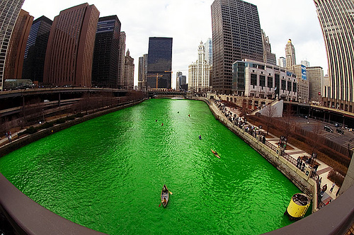 Photo: Chicago River by Kenneth Ilio