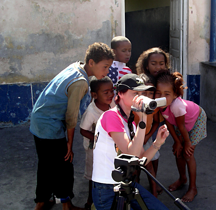 Photo: Kids and Video camera