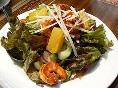 Photo: Tamarind Shrimp Salad
