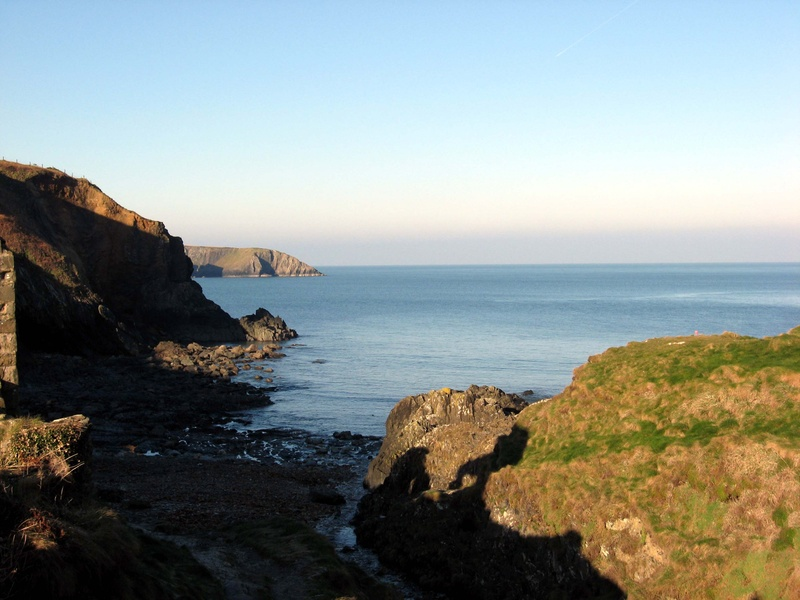 Photo: Wales coast