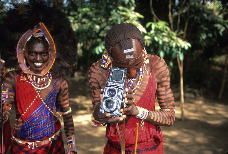 Photo: Maasai photographer