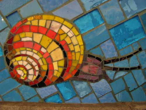 Photo: Subway Snail