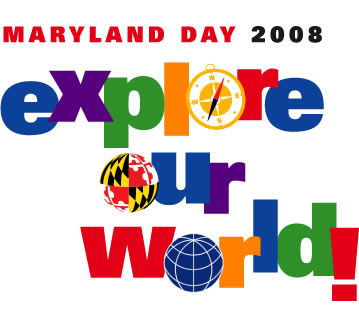 Photo: Maryland Day 2008 logo