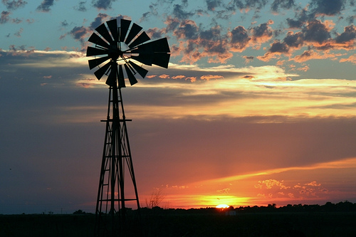 Photo: Oklahoma sunset