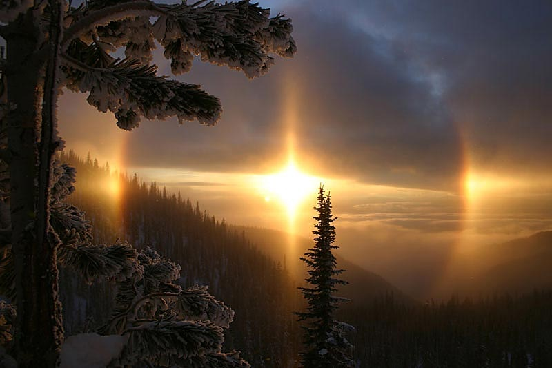 Photo: sundog by Brian Schott
