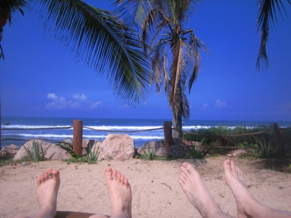 Photo: Feet on the Beach