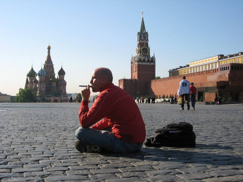 Photo: Leon in Moscow