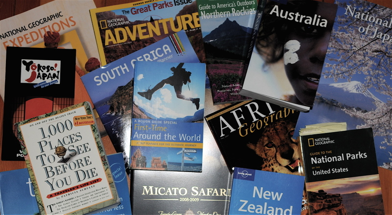 Photo: Guidebooks
