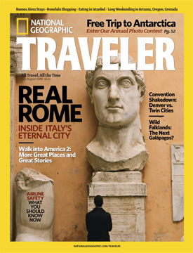 Traveler cover, July/Aug