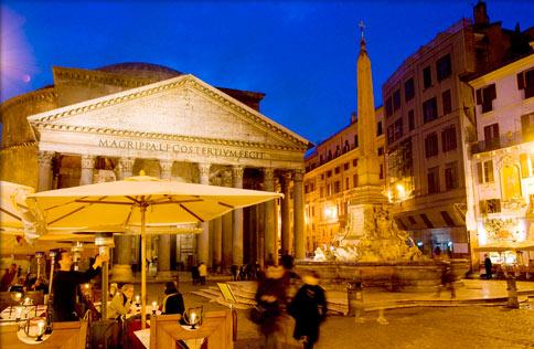 Photo: Piazza del Pantheon, Rome