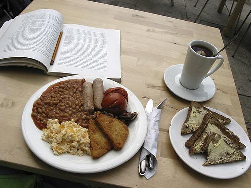Photo: vegan English breakfast