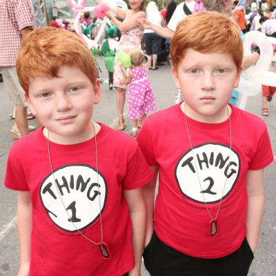 Photo: Twins at the Twins Parade