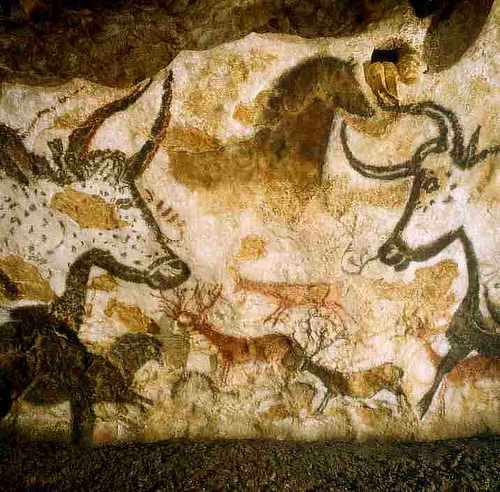 Photo: Lascaux Cave art