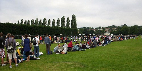 Photo: Wimbledon queue
