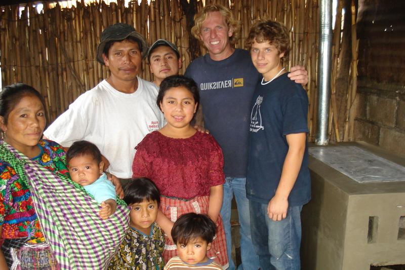 Photo: Delange family in Guatemala