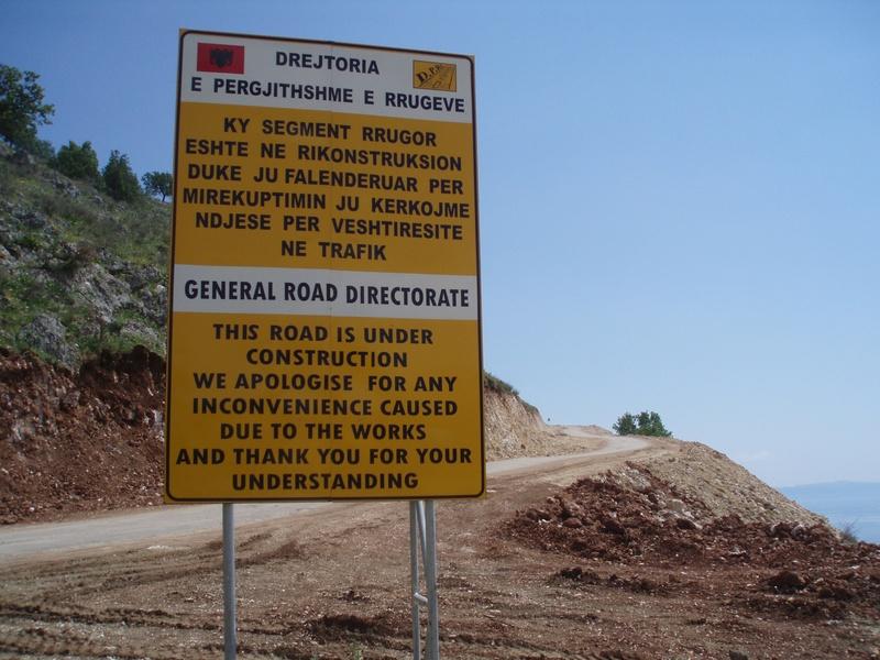 Photo: Albanian Road