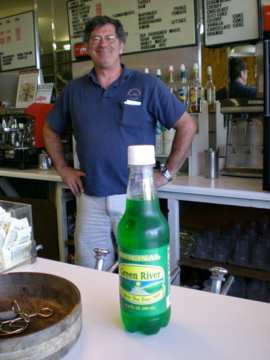 Photo: Green River soda