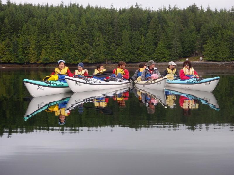 Photo: Kayaking in British Columbia