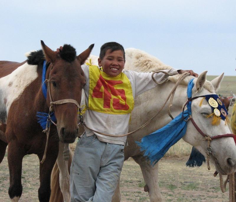 Photo: Gobi jockey