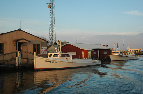 Photo: Smith Island work boat