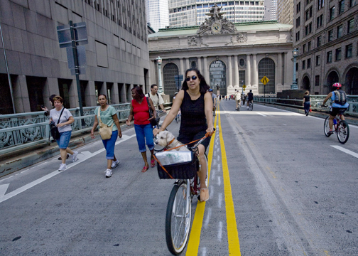 Photo: Biking by Grand Central