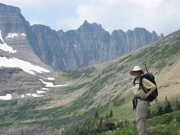 Photo: Hiking Piegan Pass in Glacier National Park