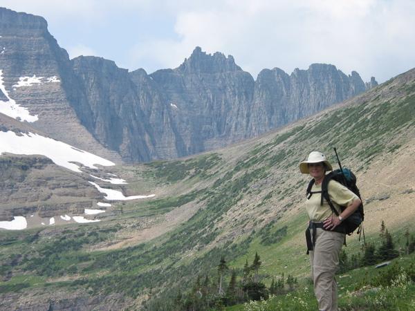 Photo: Hiking Piegan Pass in Glacier National Park