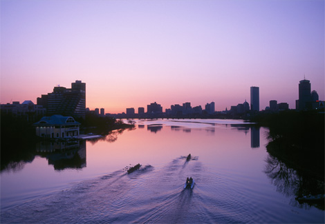 Photo: Boston sunrise