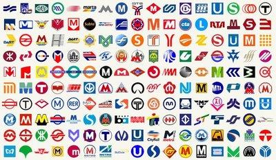 Photo: Metro logos of the world