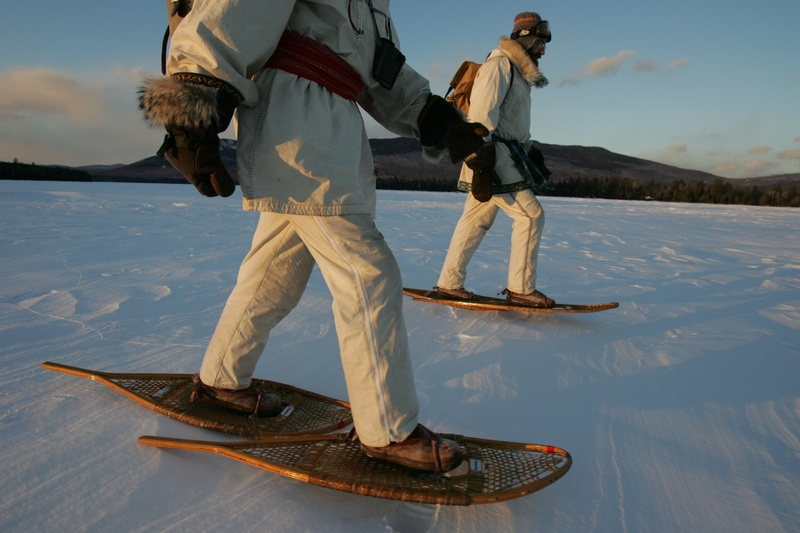 Photo: Snowshoeing in Maine