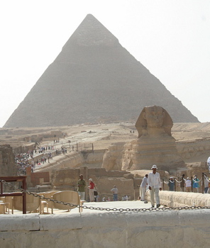 Photo: The Pyramids of Giza